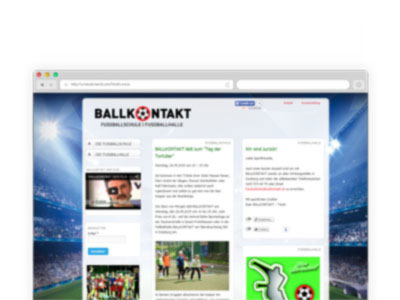 Ballkontakt